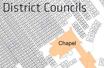 District Councils Cemetery Map